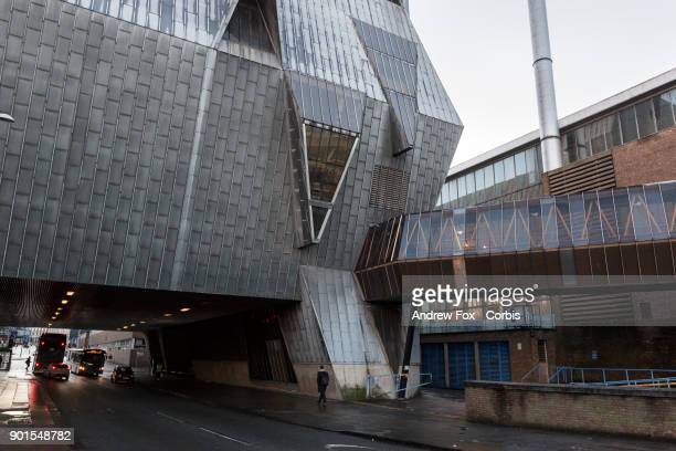 """General view of the Leisure Centre, built in 1977, is nicknamed the """"Elephant"""" due to its design. On December 13, 2017 in Coventry, England."""