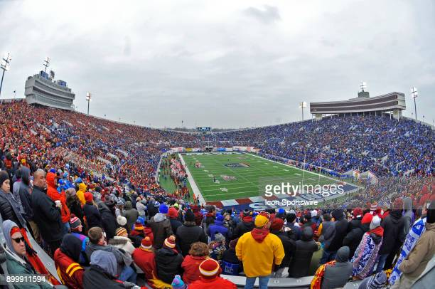 A general view of the Liberty Bowl during the AutoZone Liberty Bowl game between the Memphis Tigers and the Iowa State Cyclones on December 30 2017...
