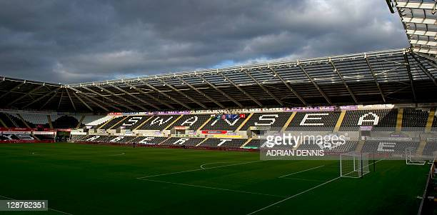 A general view of the Liberty Stadium home to Swansea City FC and Ospreys rugby club in Swansea on October 7 2011 AFP PHOTO / ADRIAN DENNIS