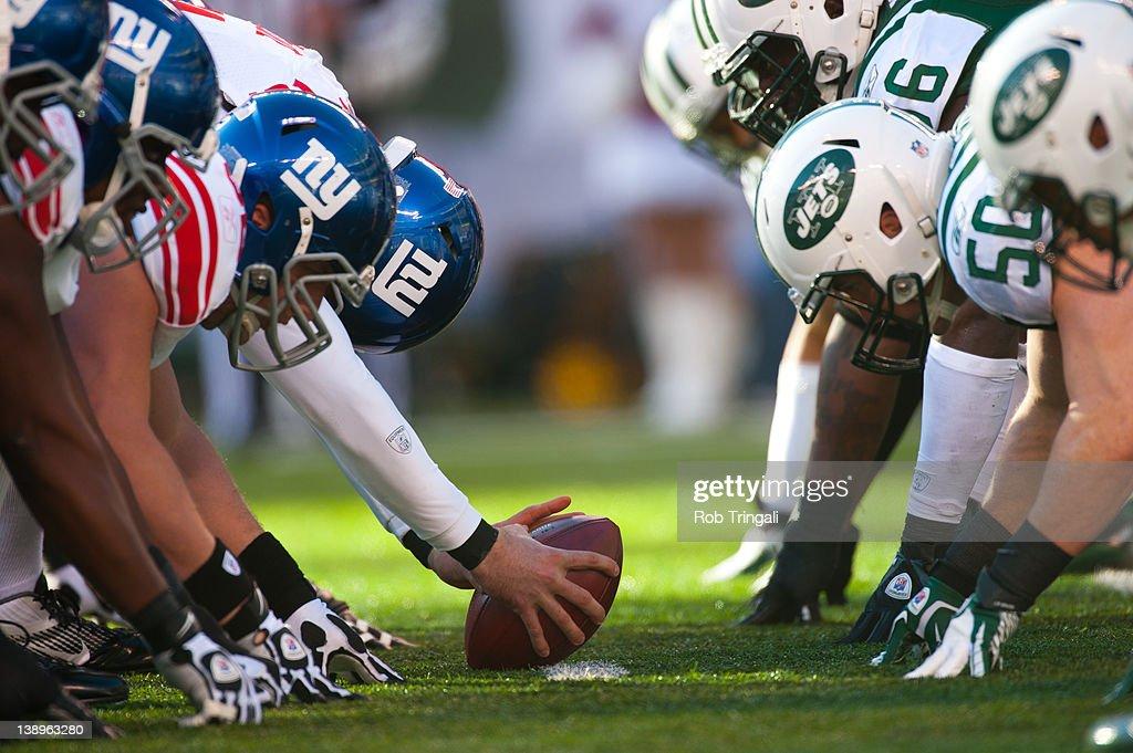 New York Giants v New York Jets : ニュース写真