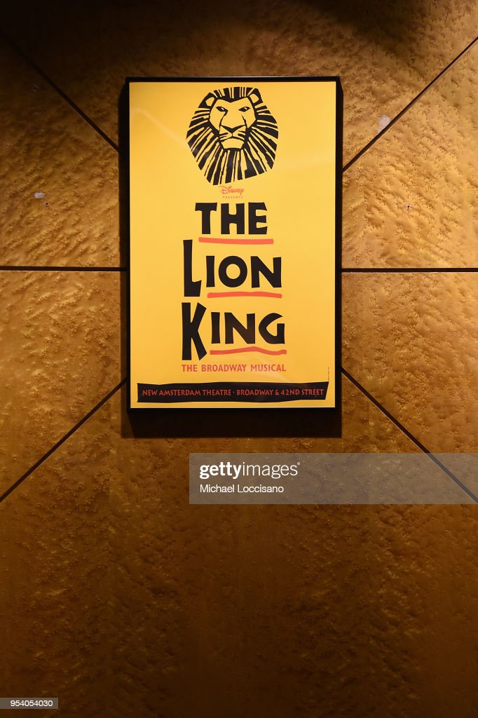 General View Of The Lion King Broadway Poster As Part Of The Farver News Photo Getty Images