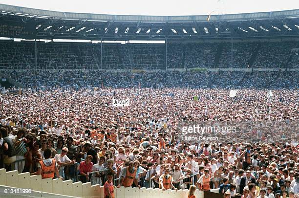 A General View Of The Live Aid Concert