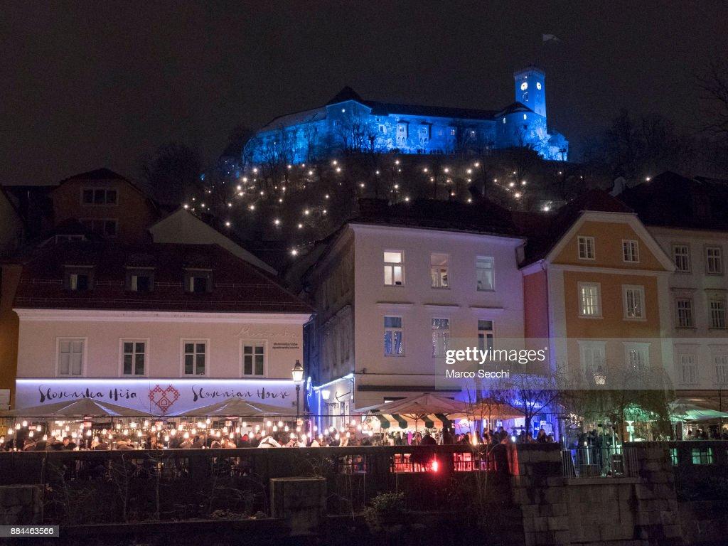 image christmas photos light markt belgium bruges market lights photo stock