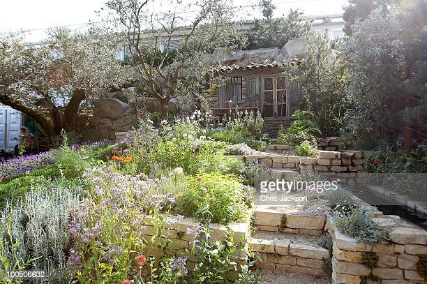 General view of the L'Occitane Garden at Chelsea Flower Show on May 25, 2010 in London, England.The Royal Horticultural Society flagship flower show...