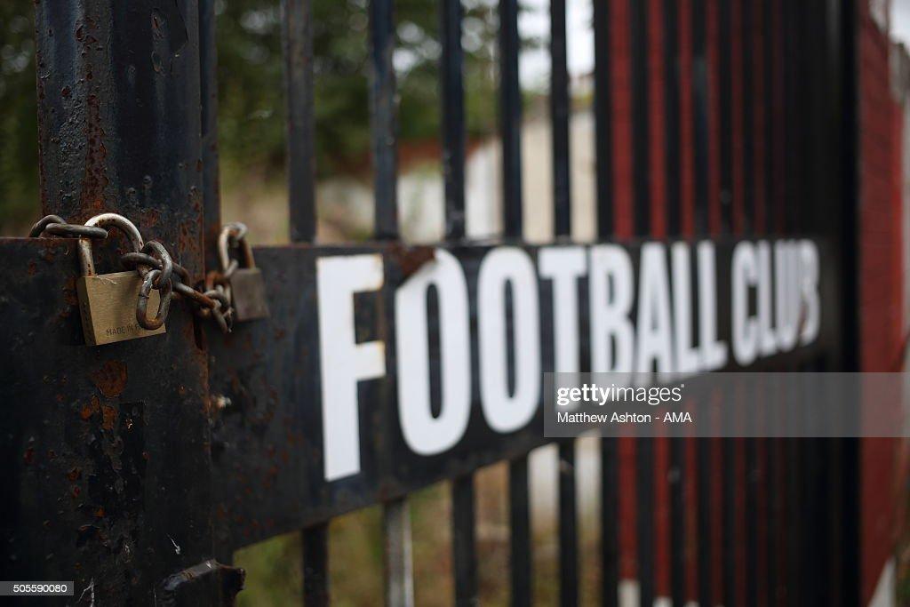 Scarborough Football Club - McCain Stadium : Nachrichtenfoto