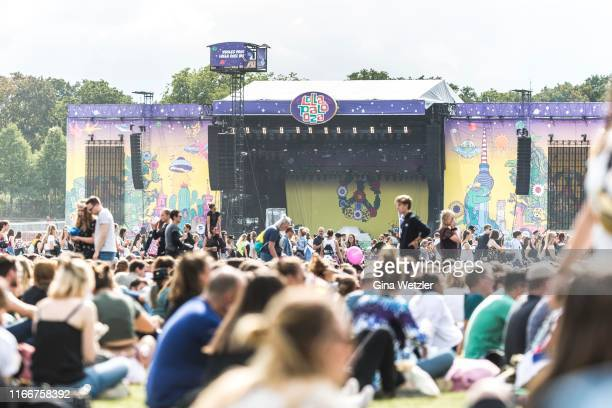General view of the Lollapalooza festival at Olympiagelände on September 7, 2019 in Berlin, Germany.
