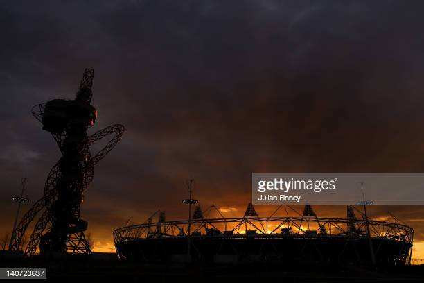 General view of the London 2012 Olympic Stadium on March 5, 2012 in London, England.
