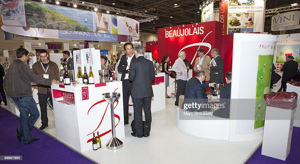 General view of the London International Wine Fair 2010 at ExCel on May 19, 2010 in London, England. The fair runs through May 20.