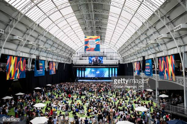 A general view of the London Korean Festival 2017 at Olympia London on July 8 2017 in London England