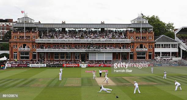 A general view of the Lord's pavilion during day four of the npower 2nd Ashes Test Match between England and Australia at Lord's on July 19 2009 in...