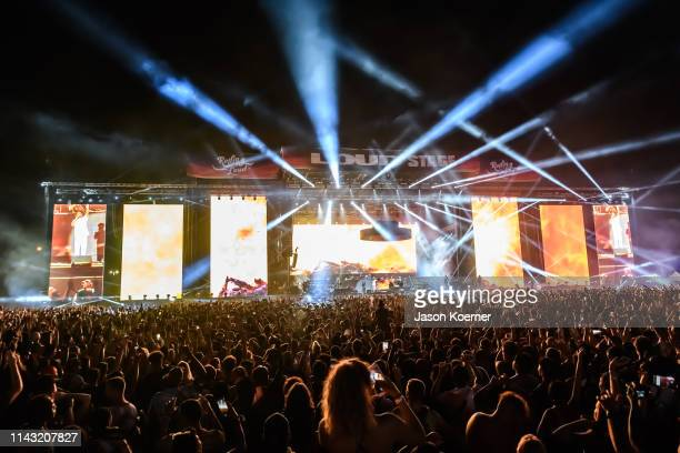General view of the Loud Stage during Rolling Loud at Hard Rock Stadium on May 11 2019 in Miami Gardens FL