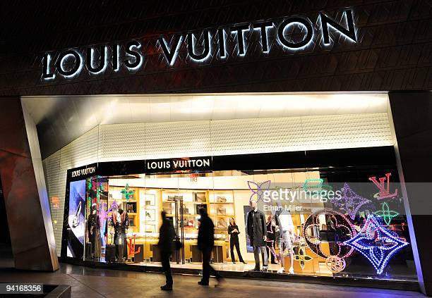 General view of the Louis Vuitton store at Crystals at CityCenter, the project's retail and entertainment district, December 8, 2009 in Las Vegas,...