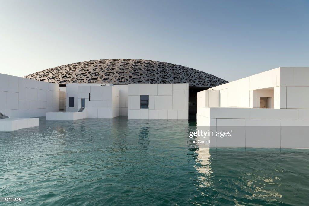 The Louvre Abu Dhabi Museum Opens In Abu Dhabi : News Photo