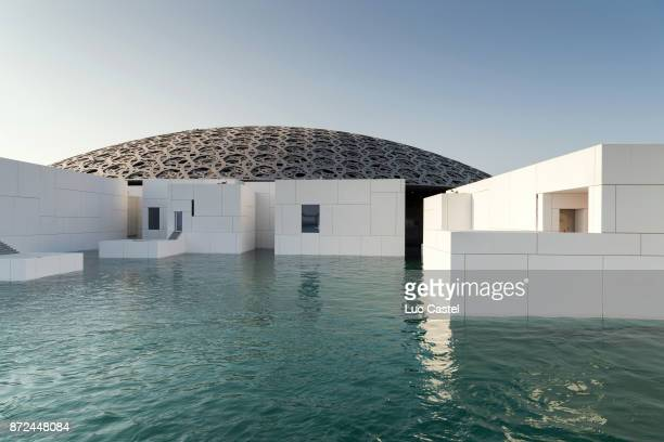 General view of The Louvre Abu Dhabi Museum Opening on November 9 2017 in Abu Dhabi United Arab Emirates