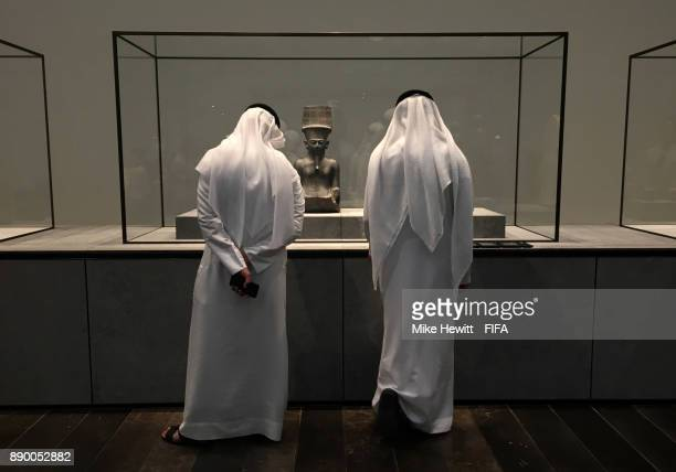 A general view of the Louvre Abu Dhabi on December 10 2017 in Abu Dhabi United Arab Emirates