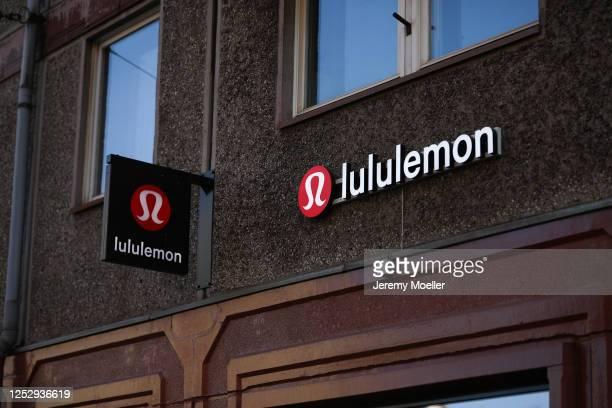 General view of the lululemon store in Berlin on June 27, 2020 in Berlin, Germany.