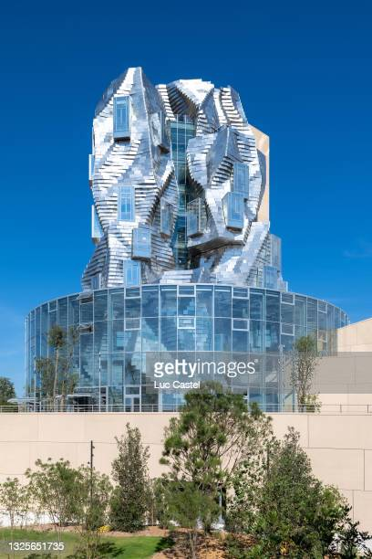 General View of the Luma Foundation designed by Architect Frank Gehry in Arles on June 26, 2021 in Arles, France