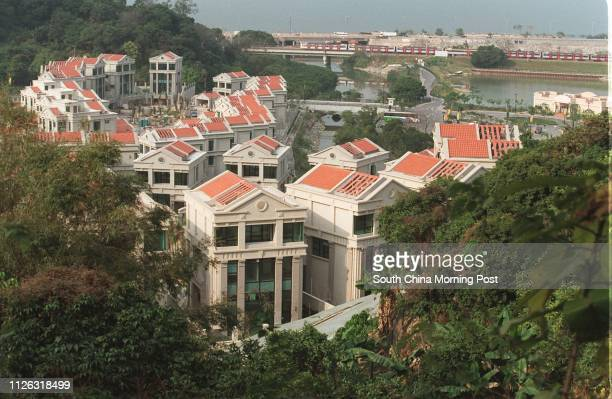 General view of the luxury residential project Constellation Cove in Tai Po Kau by Kerry Properties 23 February 2002