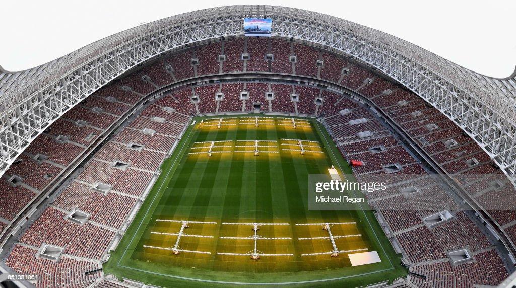 FIFA Technical Tour : Nachrichtenfoto