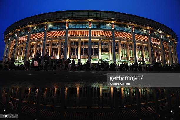 A general view of the Luzhniki Stadium prior to the UEFA Champions League Final match between Manchester United and Chelsea at the Luzhniki Stadium...