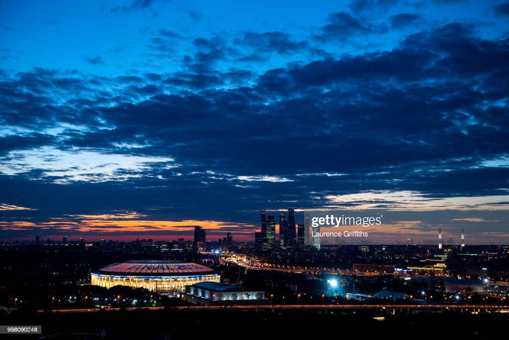 The Final Previews - 2018 FIFA World Cup Russia : News Photo