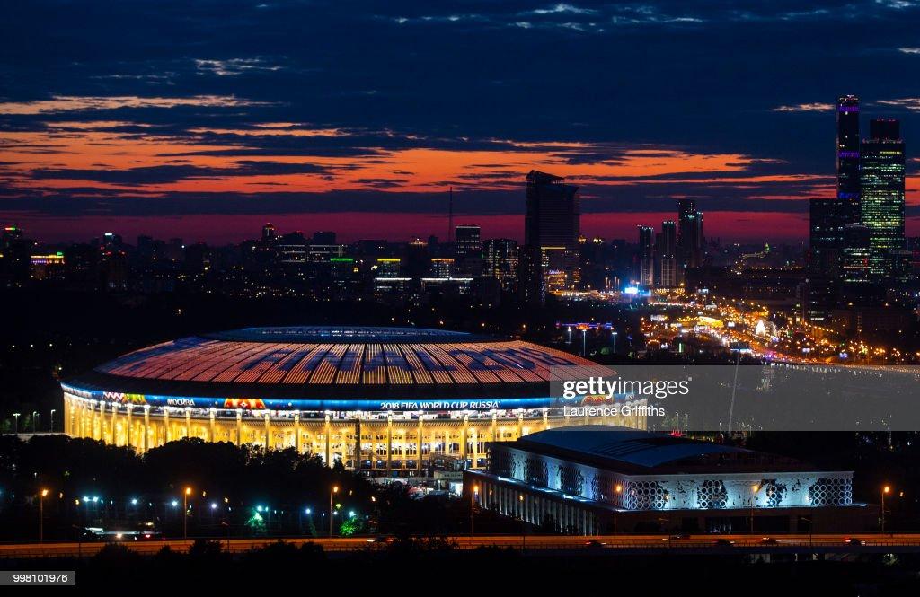 The Final Previews - 2018 FIFA World Cup Russia : Nachrichtenfoto