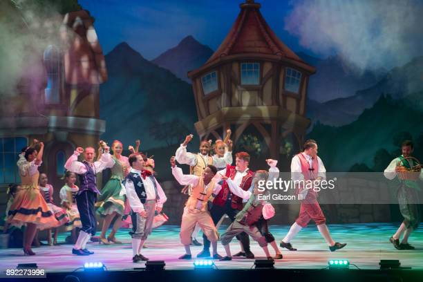 A general view of the Lythgoe Family Pantos Opening Night Performance Of 'Beauty And The BeastA Christmas Rose' at Pasadena Civic Auditorium on...