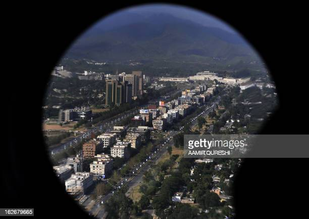 A general view of the main commercial street of the capital Islamabad is pictured on June 1 2011 The National Budget for the Fiscal year 201112...