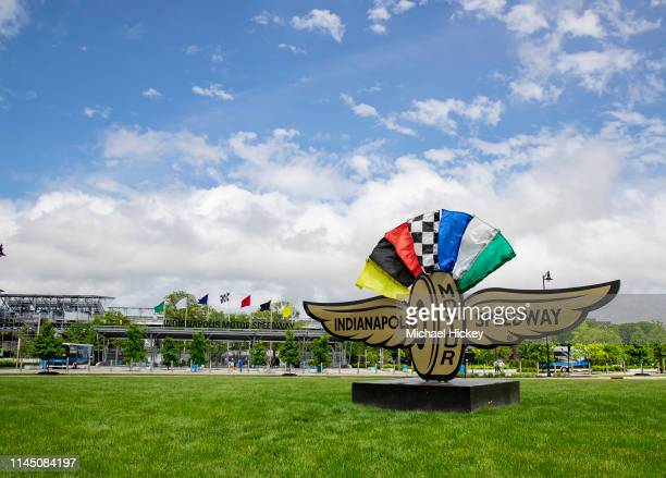 General view of the main entrance seen at Indianapolis Motor Speedway on May 19 2019 in Indianapolis Indiana