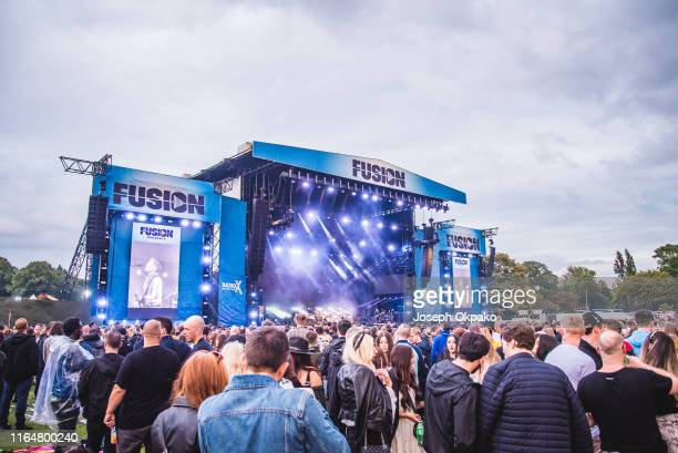General view of the main stage during Day 1 of Fusion Festival 2019 on August 30 2019 in Liverpool England