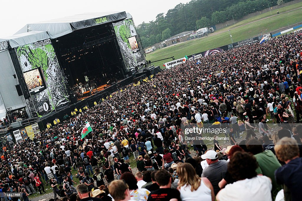 General View of the main stage during day one of the