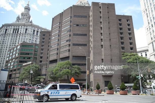 A general view of the Manhattan Correctional Center where the US financier Jeffrey Epstein was found dead in New York United States on August 10 2019