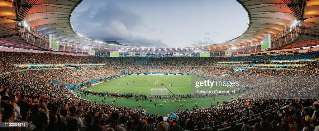 Reinaldo Coddou - Stadiums Of The World : ニュース写真