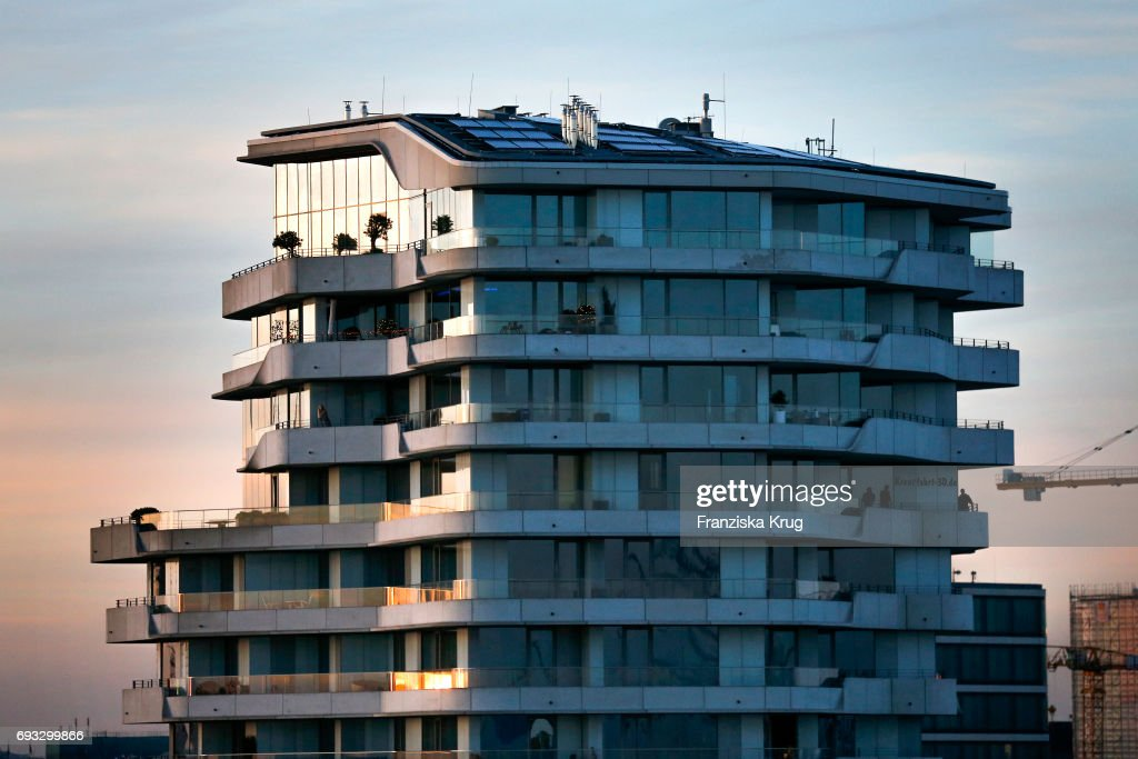 Marco-Polo-Tower In Hamburg : News Photo