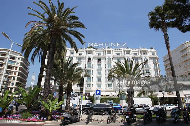 General view of the Martinez Hotel on May 6 2011 in Cannes France
