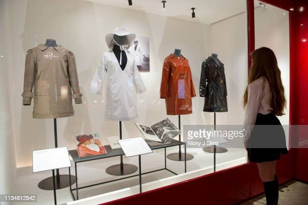 General view of the 'Mary Quant' exhibition, sponsored by King's Road, at the Victoria & Albert Museum from April 6 2019 to 16 February 2020, on...