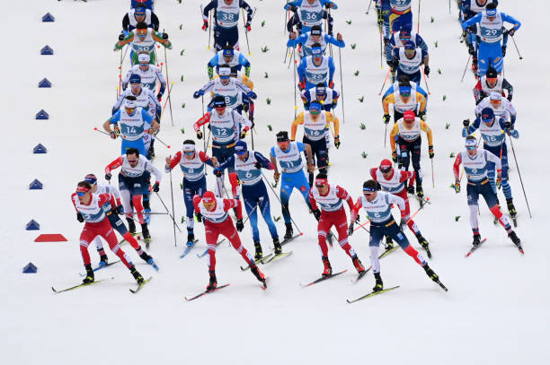 DEU: FIS Nordic World Ski Championships Oberstdorf - Men's Cross Country Skiathlon 15 km/15 km C/F