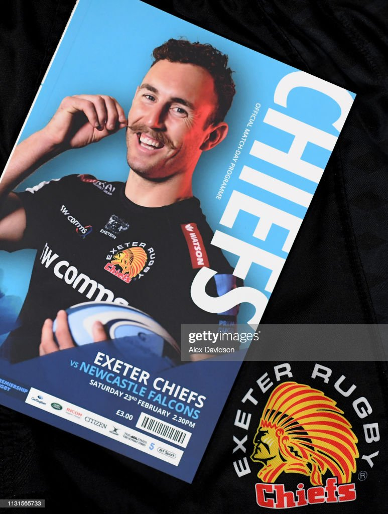 GBR: Exeter Chiefs v Newcastle Falcons - Gallagher Premiership Rugby