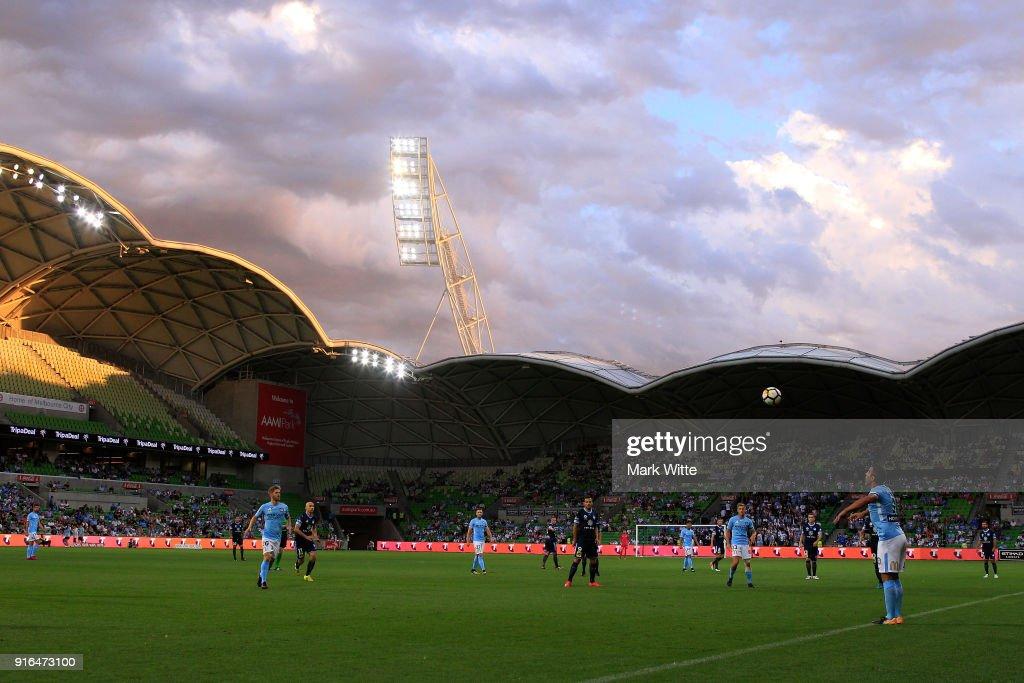 A-League Rd 20 - Melbourne v Sydney : News Photo