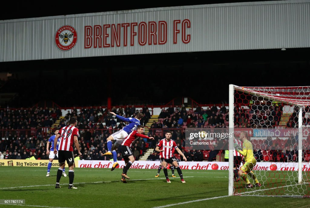 General view of the match during the Sky Bet Championship match between Brentford and Birmingham City at Griffin Park on February 20, 2018 in Brentford, England.