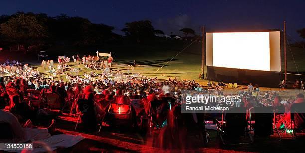 General View of the Maui Film Festival Celestial Cinema on June 18 2010 in Wailea Hawaii