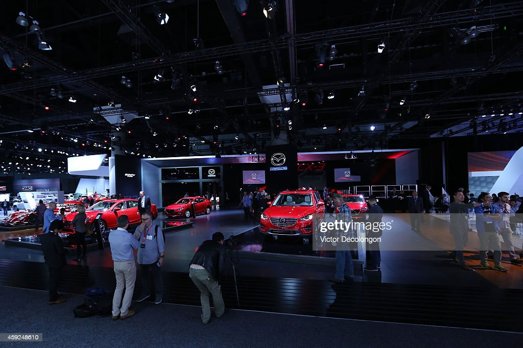 Mazda CEO Kicks Off Los Angeles Hosts Annual Auto Show Photos And - Mazda dealerships los angeles