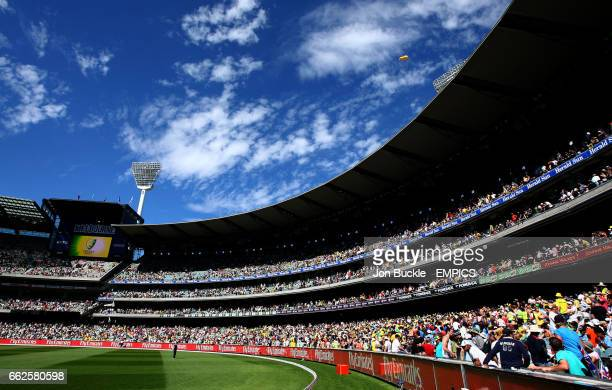 General view of the MCG as Australia face India during day one of the boxing day Test between Australia and India at the MCG