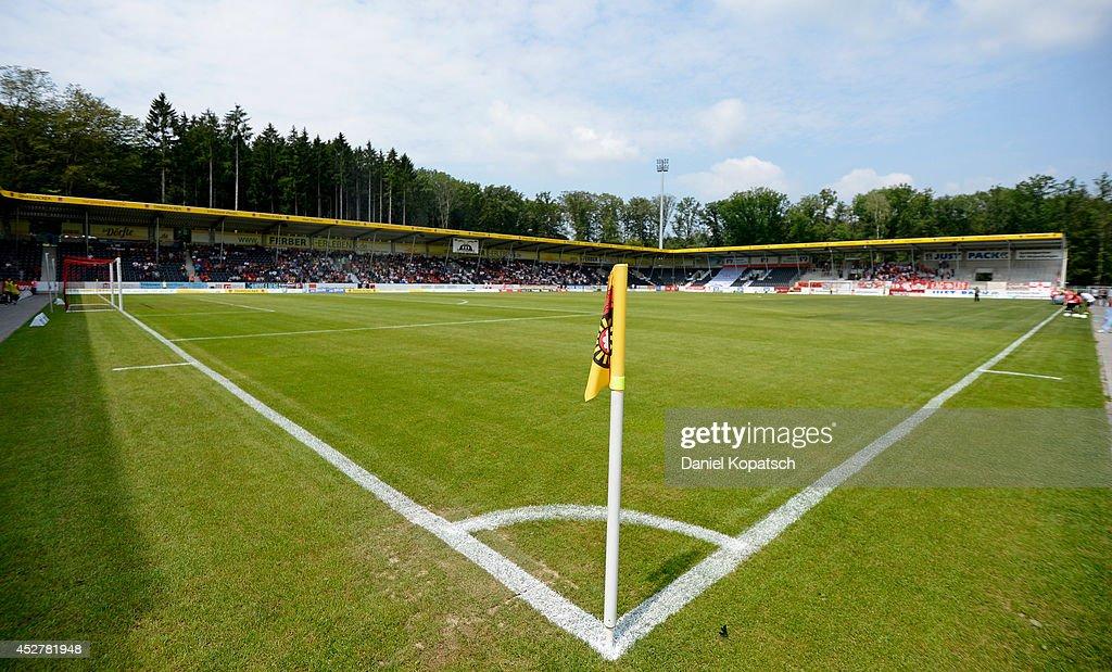 SG Sonnenhof Grossaspach v Fortuna Koeln - 3. Liga : News Photo