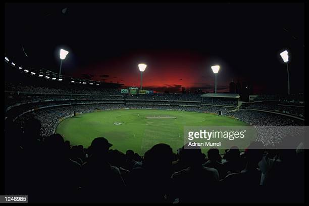 A general view of the Melbourne Cricket Ground during the final of the Cricket World Cup between England and Pakistan