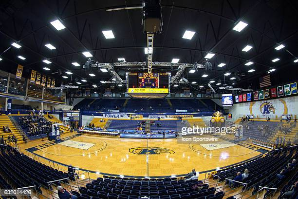A general view of the Memorial Athletic and Convocation Center prior to the NCAA Men's Basketball game between the Buffalo Bulls and Kent State...