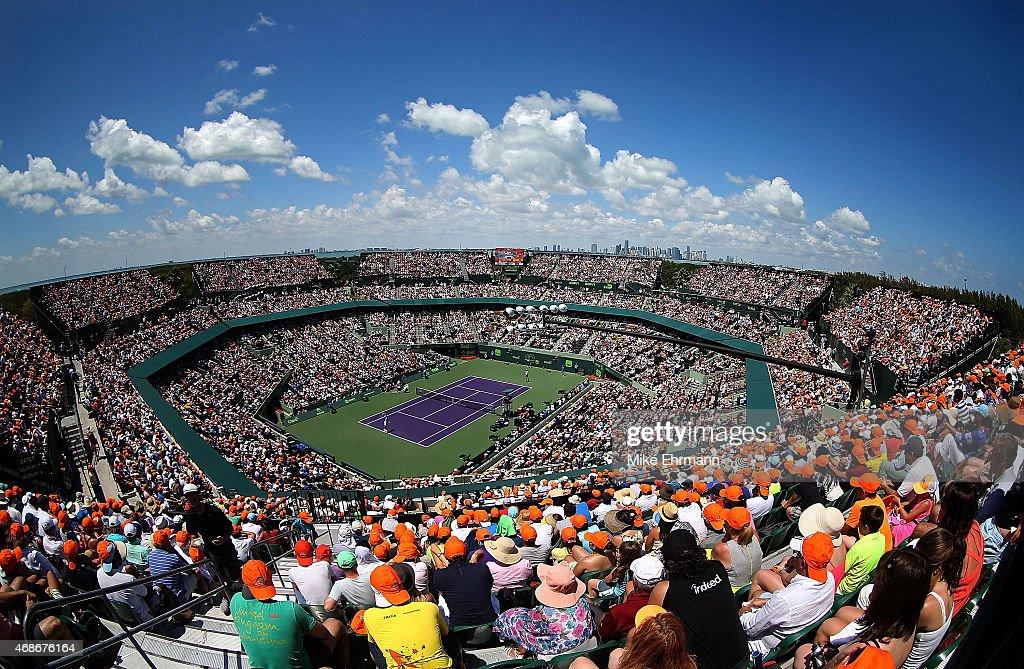 Miami Open Tennis - Day 14 : ニュース写真