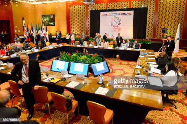 General view of the MesoAmerica Project in the framework of the XVI Summit of Political Dialog and Concertation of the XVI Tuxtla in San Jose on...