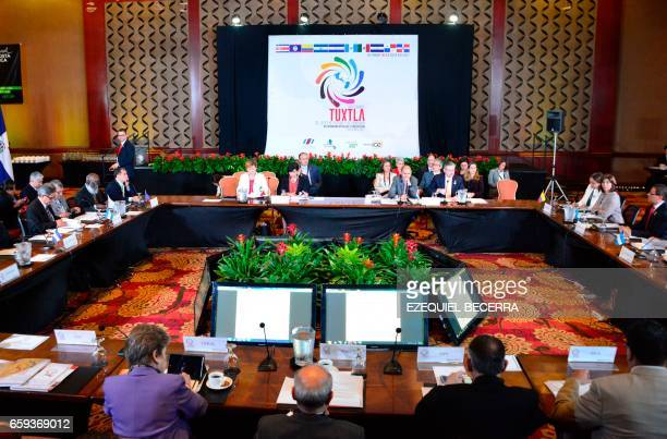 General view of the MesoAmerica Project in the framework of the XVI Summit of Heads of State and Government of the Tuxtla Mechanism for Dialogue and...