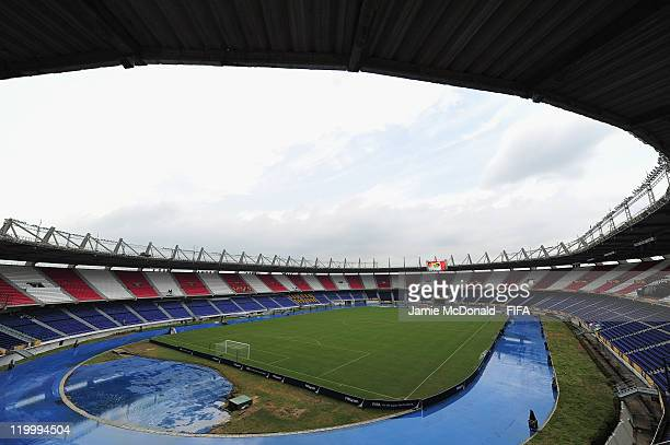 General view of the Metropolitano Roberto Melendez stadium on July 28, 2011 in Barranquilla, Colombia.